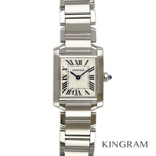Cartier - カルティエ タンクフランセーズSM  レディース腕時計