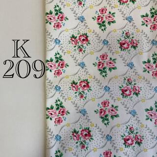 キャスキッドソン(Cath Kidston)の綿生地 帆布 キャスキッドソン オフホワイト×花柄(生地/糸)