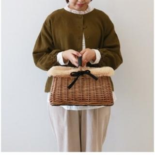 SM2 - ◎新品 タグ付き サマンサモスモス WEB限定 かごバッグ