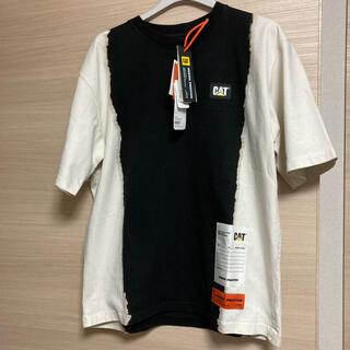 OFF-WHITE - 【新品】ヘロンプレストン REG CAT コラボTシャツ オーバーサイズ