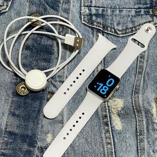 Apple Watch - Apple Watch  Series 3 38mm GPSモデル シルバー美品