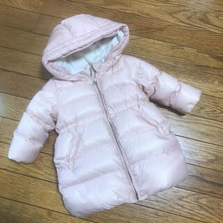 ベビーギャップ(babyGAP)のBabyGap アウター ダウン コート 女の子 ピンク 80cm(ジャケット/コート)