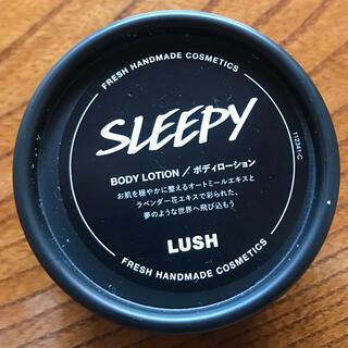 ラッシュ(LUSH)の新品未使用 スリービィ ボディーローション(ボディローション/ミルク)