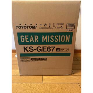 Snow Peak - トヨトミ 石油ストーブ GEAR MISSION オリーブ KS-GE67