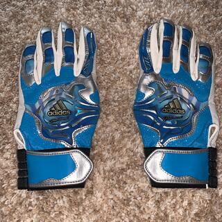 adidas - バッティンググローブ 手袋 グローブ アディダス プロフェッショナル 水色 野球