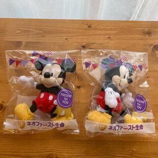 ミッキーマウス(ミッキーマウス)のミッキーマウス ぬいぐるみ 非売品(キャラクターグッズ)