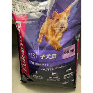 ROYAL CANIN - 新品 未開封 ユーカヌバ Eukanuba パピー用 15キロ 子犬用 小型犬用