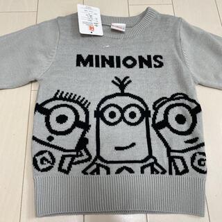 ミニオン - 新品未使用★ミニオンニット95セータートップス