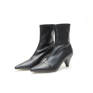 ファビオルスコーニ(FABIO RUSCONI)の新品♪FABIORUSCONI 本革 ストレッチショートブーツ(36)(ブーツ)