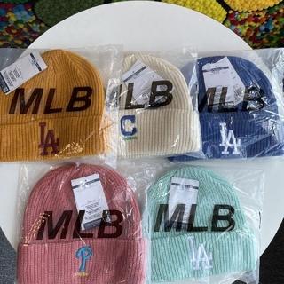 ニューエラー(NEW ERA)のMLB  五色の帽子(ニット帽/ビーニー)
