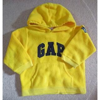 ベビーギャップ(babyGAP)のベビーギャップ フード付きトレーナー フリース 95cm(Tシャツ/カットソー)