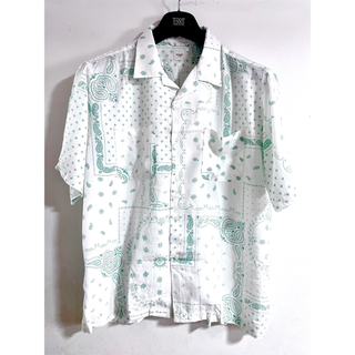 ウィゴー(WEGO)のペイズリー 半袖 シャツ 半袖シャツ browny vintage WEGO (シャツ/ブラウス(半袖/袖なし))