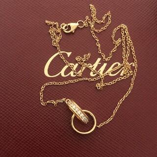 Cartier - カルティエ ダイヤモンドネックレス