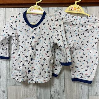 ミキハウス(mikihouse)のミキハウス パジャマ 長袖 80(パジャマ)