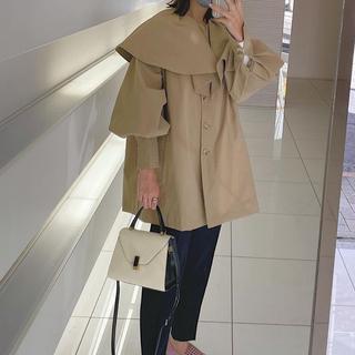 eLLa trench cape coat (beige)完売品