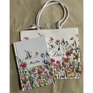 ディオール(Dior)のDIOR ミス ディオール ノベルティセット ノート ショッパー 非売品(ノベルティグッズ)