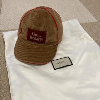 Gucci - 美品❗️グッチチルドレン HORAMA cap サイズL 56センチ