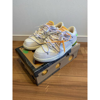 """NIKE - OFF-WHITE × NIKE DUNK LOW 1 OF 50 """"17"""""""
