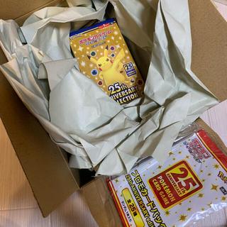 ポケモン - ポケモンカード25th ANNIVERSARY  1BOX プロモ4パック付き