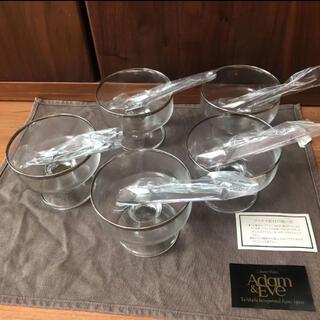 タチキチ(たち吉)の新品未使用!Amame&Eve たち吉 デザートカップ、スプーン 5個セット(食器)