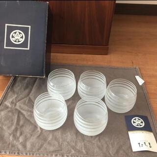 タチキチ(たち吉)の新品未使用!たち吉 冷茶碗 みなも 5客(グラス/カップ)