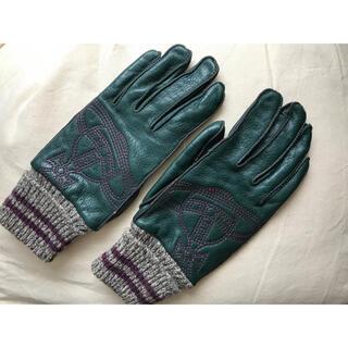 Vivienne Westwood - Vivienne Westwood レザーグローブ 手袋 モスグリーン