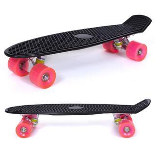 ミニクルーザー スケートボード スケボー ペニータイプ SK026 ブラック(スケートボード)
