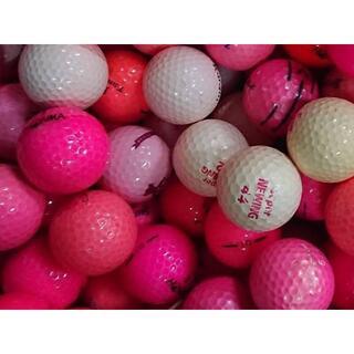 ■20・ロストボール ブランド色々 ピンク 100球 B
