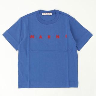 Marni - MARNI マルニ ロゴプリント半袖Tシャツカットソー