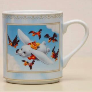 Disney - 《未使用》ディズニー 空飛ぶダンボ マグカップ