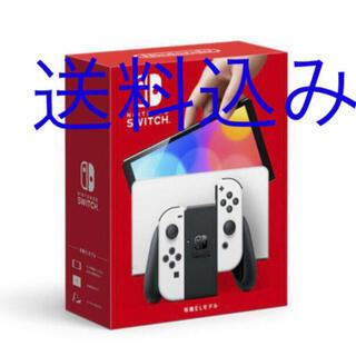 Nintendo Switch - 【新品・送料込み】新型スイッチ 有機ELディスプレイ ホワイト 64GB