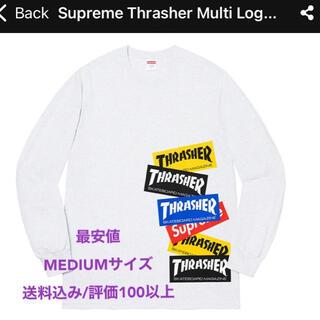 シュプリーム(Supreme)の【最安値】Supreme Thrasher Multi Logo L/S Tee(Tシャツ/カットソー(七分/長袖))