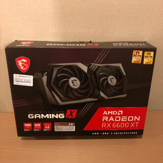 【新品未開封】MSI Radeon RX 6600 XT GAMING X 8G