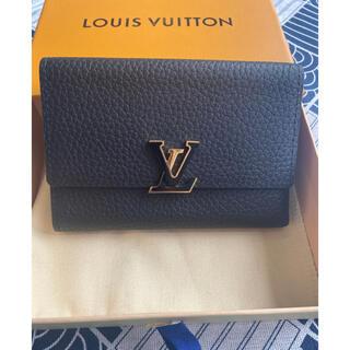 LOUIS VUITTON - 【美品】ヴィトン ポルトフォイユカプシーヌコンパクト  折り財布 M62157