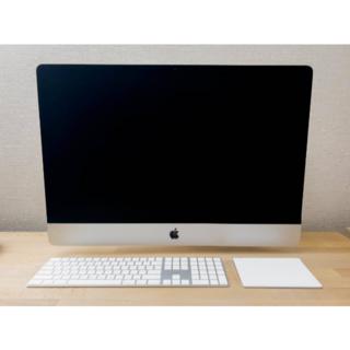 Apple - iMac 27インチ 5K 2020 VESA i9/RAM64GB/SSD1T