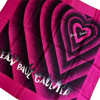 ジャンポールゴルチエ(Jean-Paul GAULTIER)のJean Paul GAULTIER シルク スカーフ ゴルチェ(バンダナ/スカーフ)
