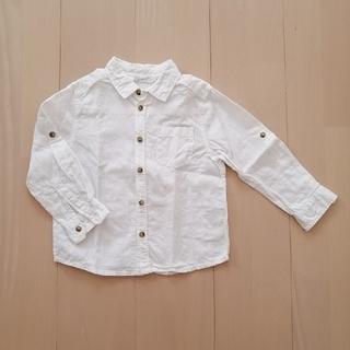 エイチアンドエム(H&M)のH&M コットンシャツ 100cm(Tシャツ/カットソー)