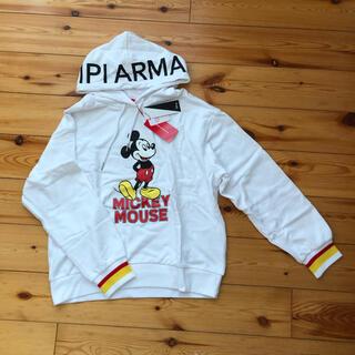 レピピアルマリオ(repipi armario)の新品タグ付き REPIPI ARMARIO ミッキーパーカー(Tシャツ/カットソー)