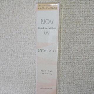 ノブ(NOV)のノブ  リキッドファンデーション  ベージュオークル10  (ファンデーション)