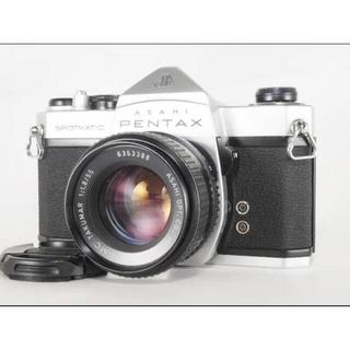 ペンタックス(PENTAX)のPentax SPシルバーSMC TAKUMAR 55mm f/1.8(整備品)(フィルムカメラ)