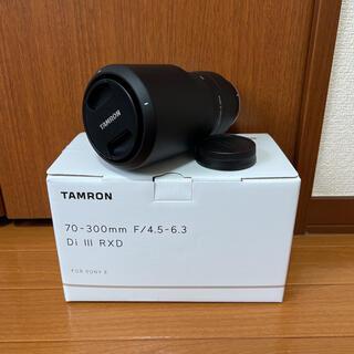 TAMRON - 新品タムロン70-300mm F4.5-6.3 ソニー Eマウント a047