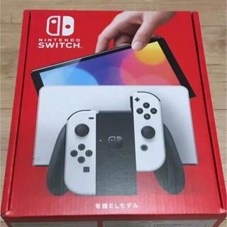ニンテンドースイッチ(Nintendo Switch)の有機EL Nintendo 新型 Switch 本体 ホワイト 新品 スイッチ(家庭用ゲーム機本体)