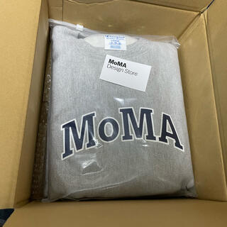 MOMA - MoMA Champion スウェット トレーナー グレー Lサイズ