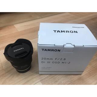 TAMRON - 【最終値下げ】TAMRON 20mm F2.8 DiIII OSD M1:2
