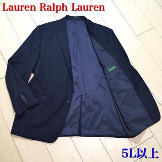ラルフローレン(Ralph Lauren)の極美品★ラルフローレン 高級ネイビー ジャケット 総裏 濃紺 春秋冬 A626(テーラードジャケット)