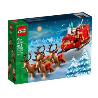 Lego - 【新品未使用】レゴ LEGO サンタのソリ 40499