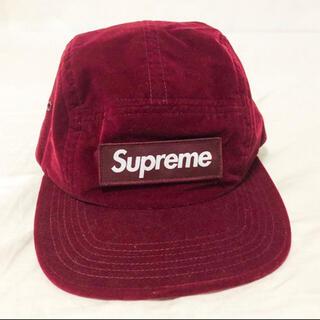 Supreme - Supreme◆Velvet Camp Cap/ベロアキャンプキャップ