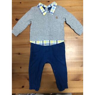 ベビーギャップ(babyGAP)のbaby GAP 長袖ロンパース サイズ80(ロンパース)