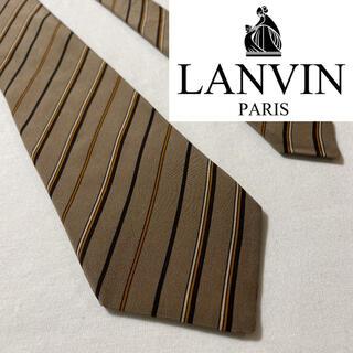 LANVIN - 【まとめ買いでお得】LANVIN ランバン ネクタイ tie ストライプ