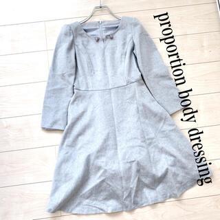 PROPORTION BODY DRESSING - proportion body dressing ワンピース  起毛 秋冬